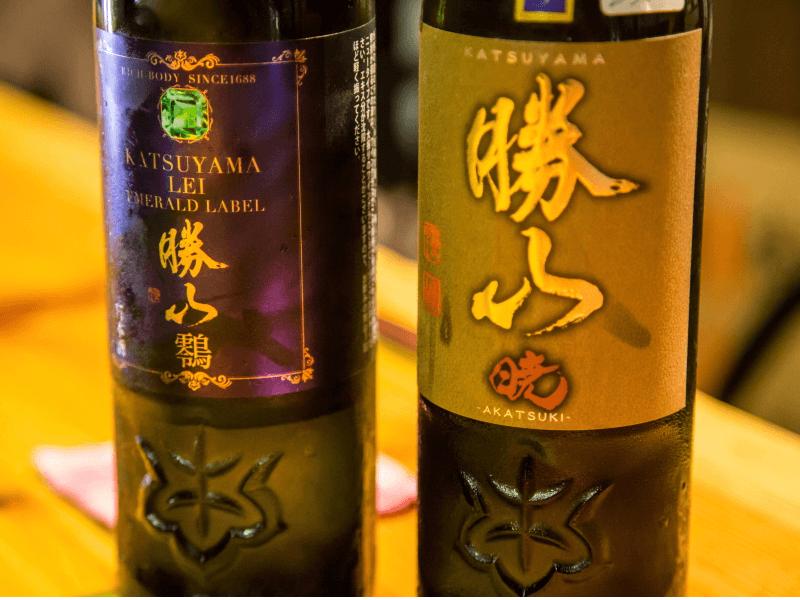 勝山のプレミアム・高級酒2商品