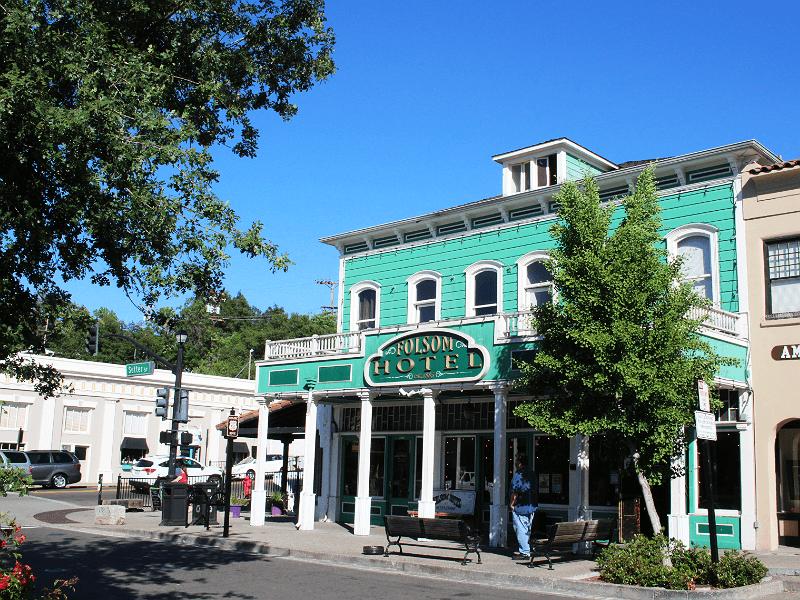 フォルサム旧市街