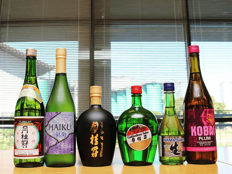 現地醸造している6種の酒