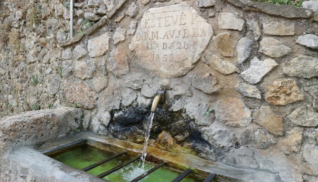 醸造用水として用いられるトゥイシェントの雪解け水
