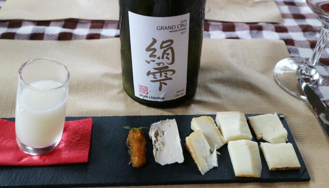 地元産チーズと日本酒のペアリング