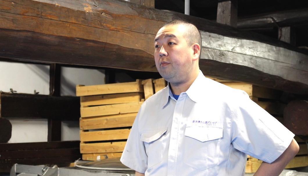 雪椿酒造の杜氏・飯塚さん