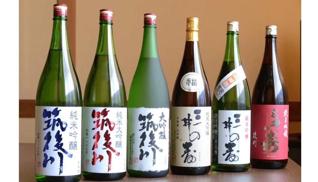 「TACHI A LIFE フェスティバル」で提供される、太刀洗町のお酒
