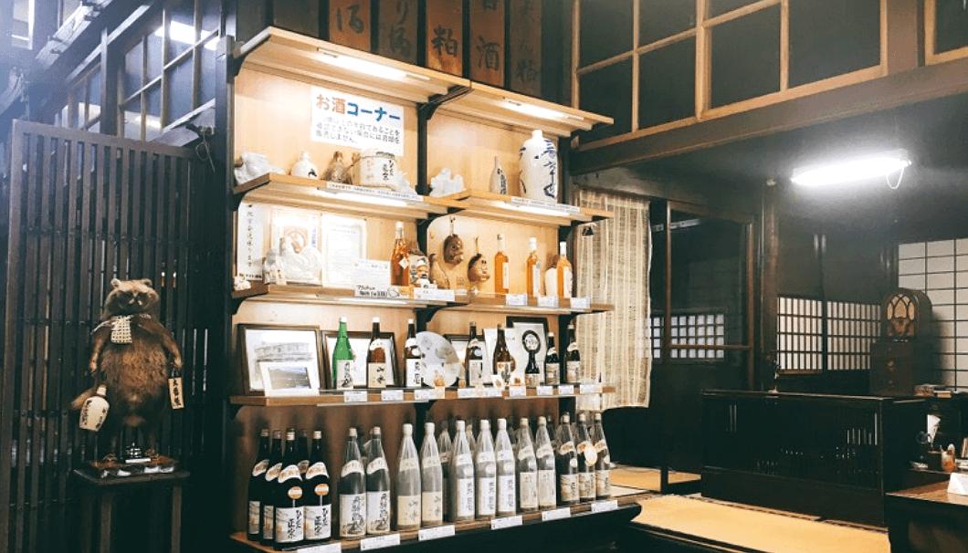 川尻酒造場の蔵内