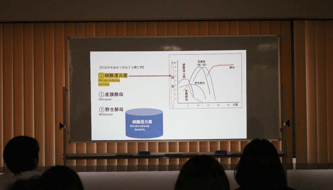 「SAKE EXPERT」の第2回講義で使われたスライド