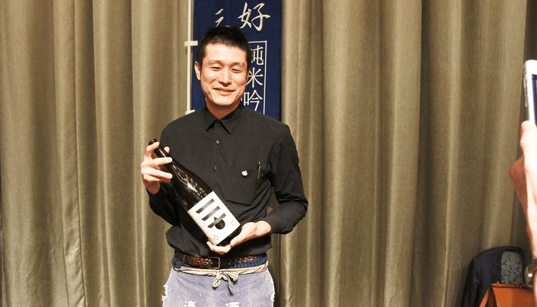 阿武の鶴酒造の三好隆太郎さん