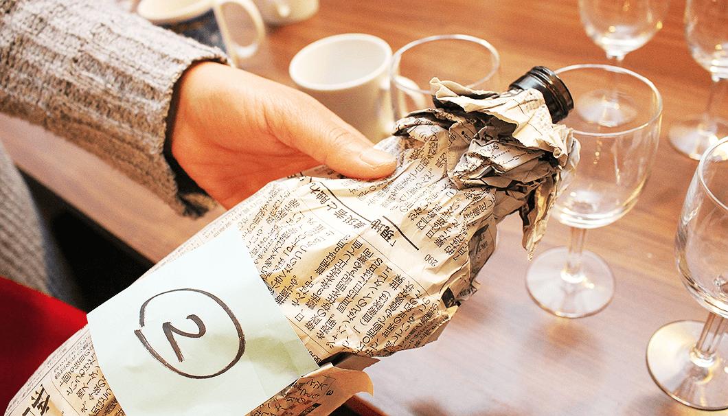 「醸し人九平次」日本酒出張セミナー・ブラインド・テイスティング