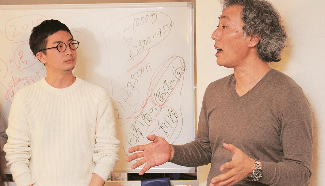 「醸し人九平次」日本酒出張セミナー・久野九平次さんとSAKETIMES生駒