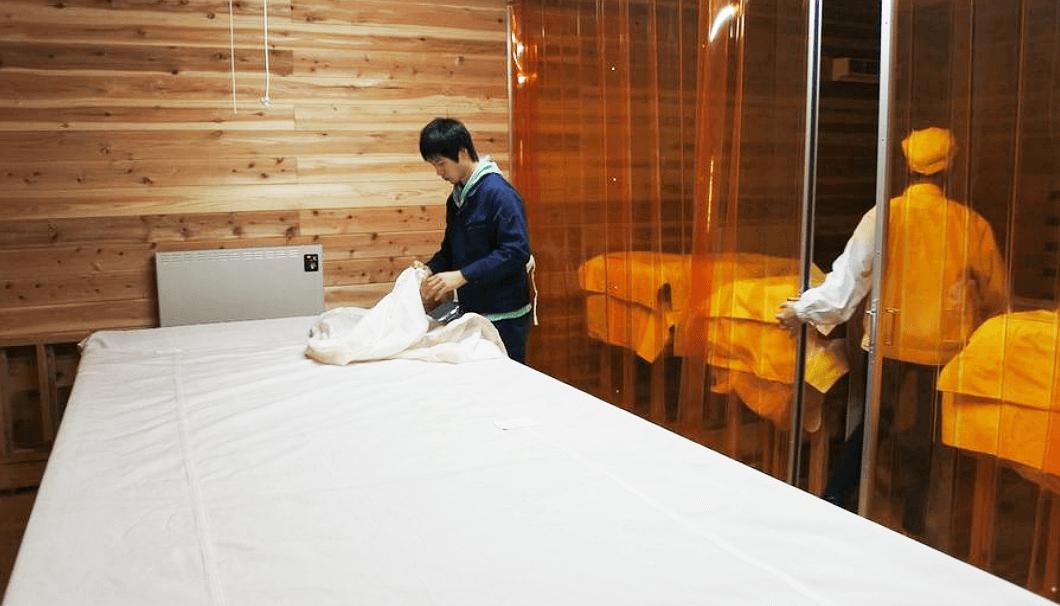 佐藤酒造店の麹室