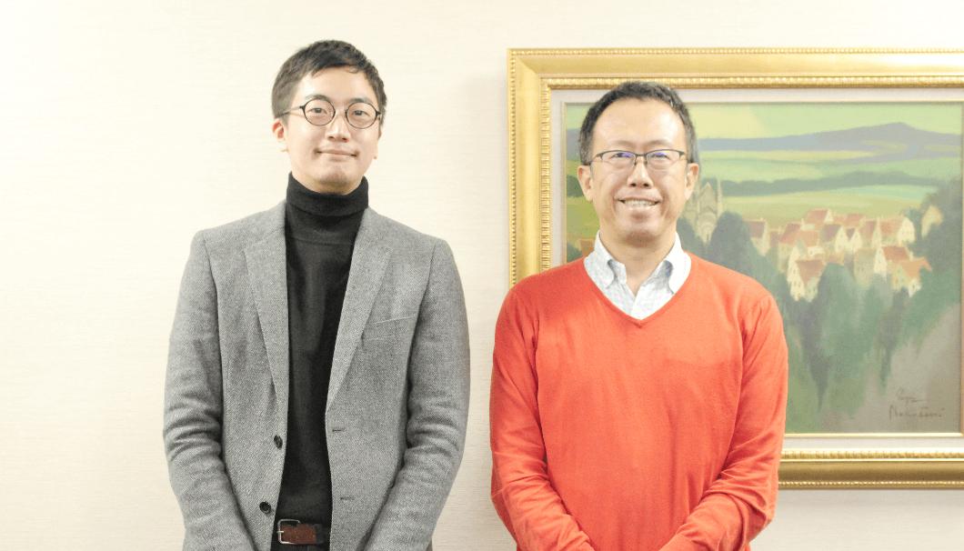 株式会社Clearの代表・生駒と、マスター・オブ・ワインの大橋さん