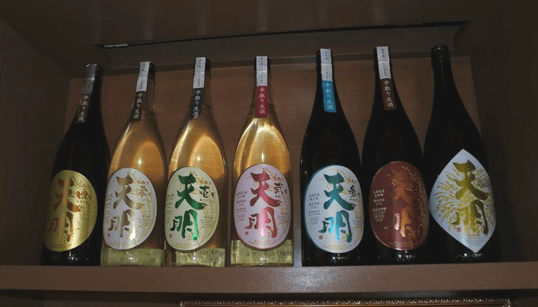 福島県・曙酒造の商品ラインアップ