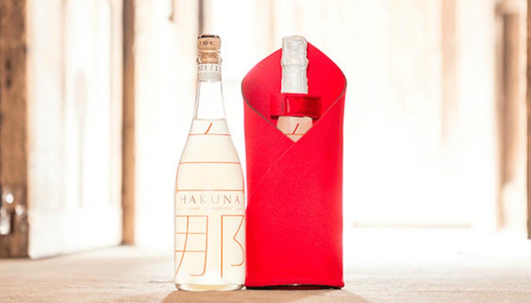 「白那」の酒瓶