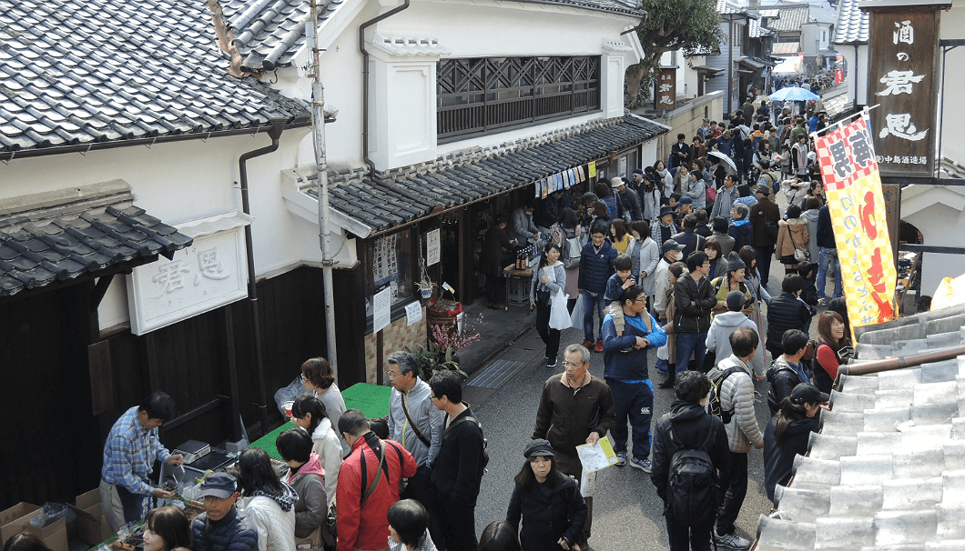 「鹿島酒蔵ツーリズム」は2012年に開催され、第6回目となった2017年の開催時には来場者数が8万人を突破した。