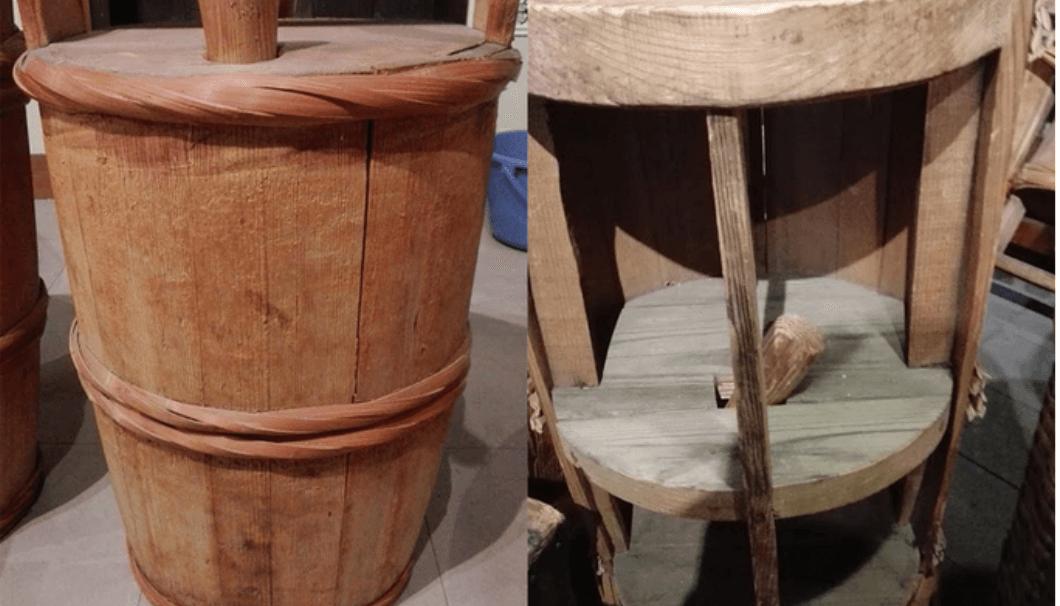 暖気樽の構造 ~白鶴資料館より~