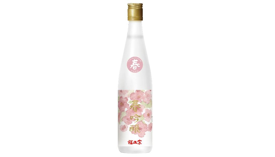 福正宗 酒歳時記 春吟醸 2018のボトルの写真