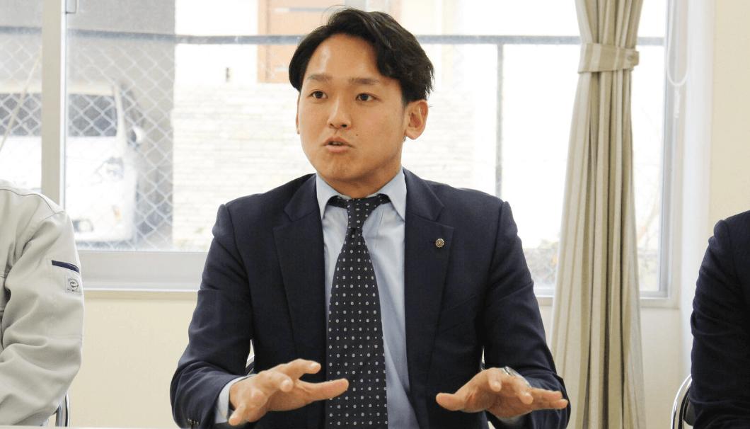 キクマサの良さについて語る海外事業部 海外事業課・京極慎平さん