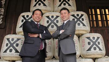 沢の鶴代表取締役社長の西村隆氏、ヤンマーでアグリ事業部品質保証部部長を務める山岡照幸氏