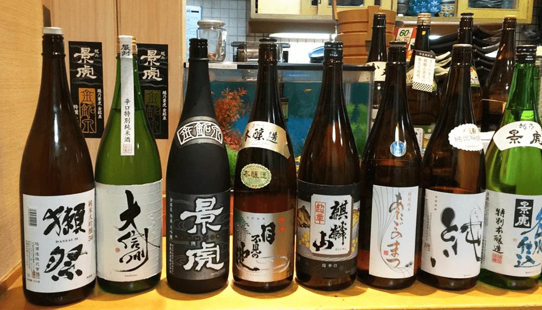 「越後吉平」日本酒のラインナップ