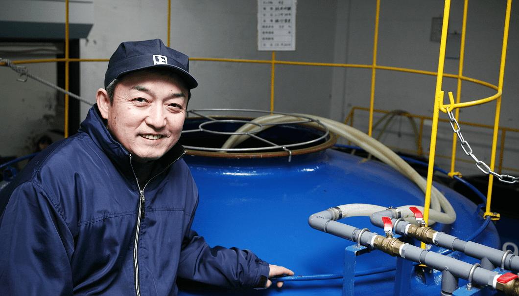 農家の酒プロジェクト2017・高砂酒造杜氏の森本さん