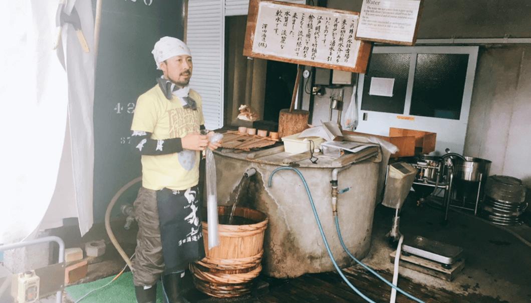 澤田酒造の杜氏・澤田英敏さん