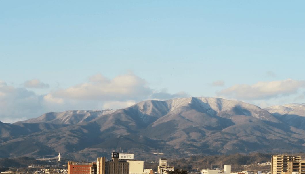 鶴乃江酒造・合図若松の景色