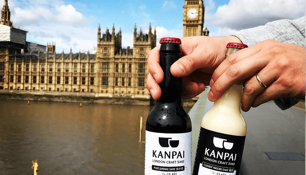 ロンドン初の酒蔵カンパイ・ロンドン・クラフト・サケで醸されるSAKE。その名もKANPAI