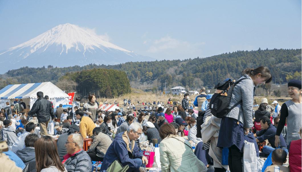 富士錦酒造の蔵開きの様子