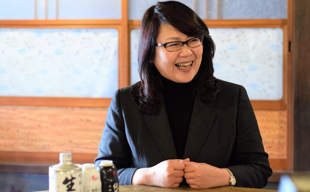 本家松浦酒造十代目蔵元の松浦素子さん