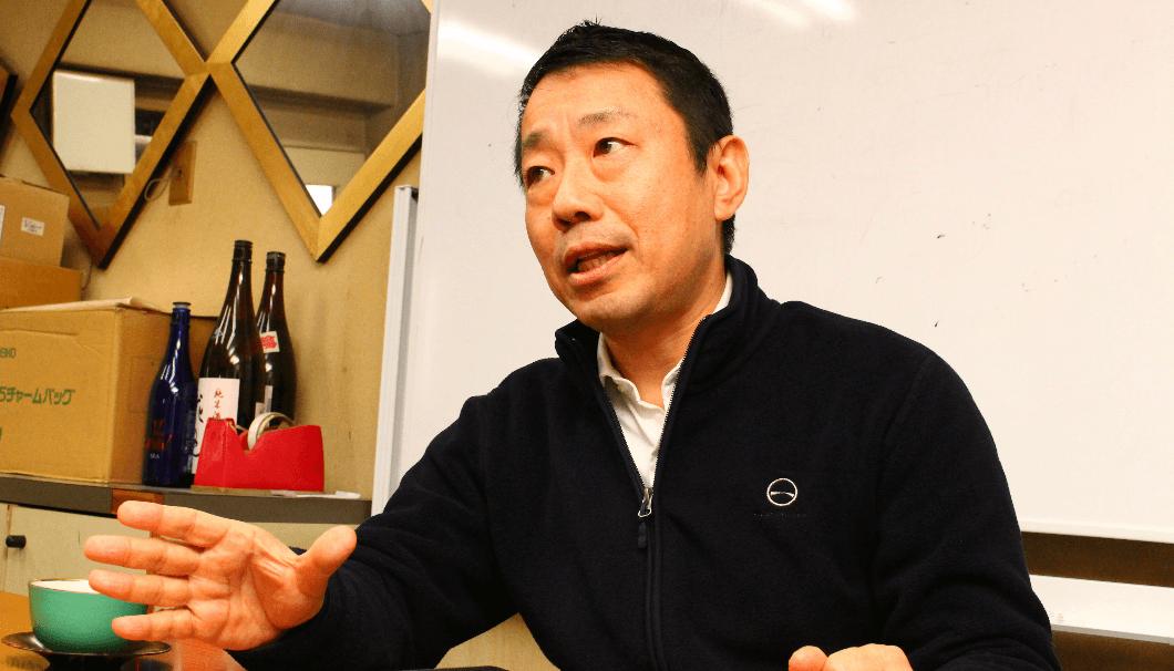 酒屋「水橋」4代目社長・水橋信也さん