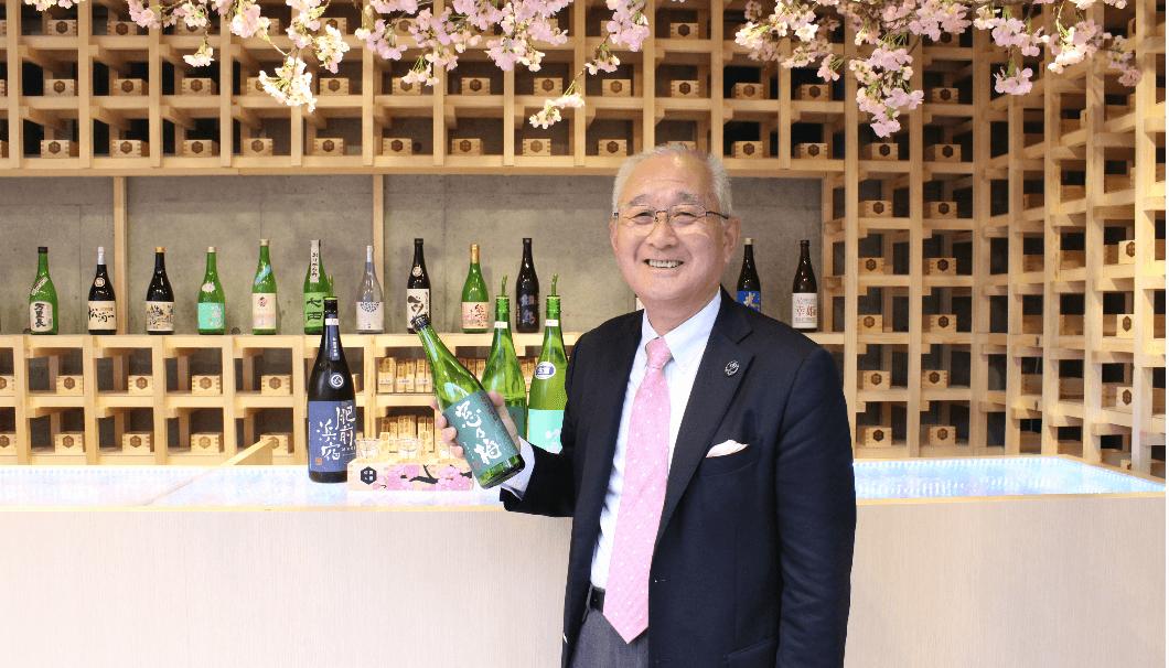 佐賀県酒造組合会長の古賀さん