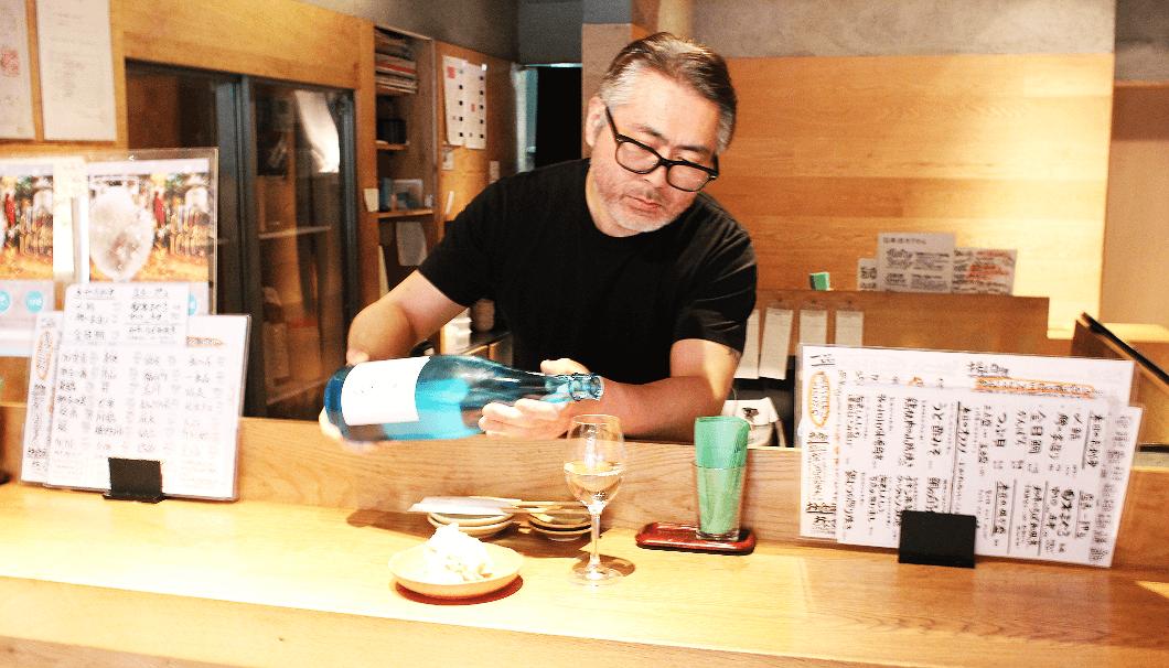 日本酒バルちんたらChintaraの神田彰店長