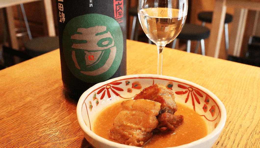 日本酒バルちんたら(Chintara)のおすすめメニュー:豚の角煮