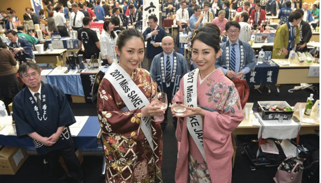 「ワイングラスでおいしい日本酒アワード2018」の入賞酒をお披露目する会のイメージ画像