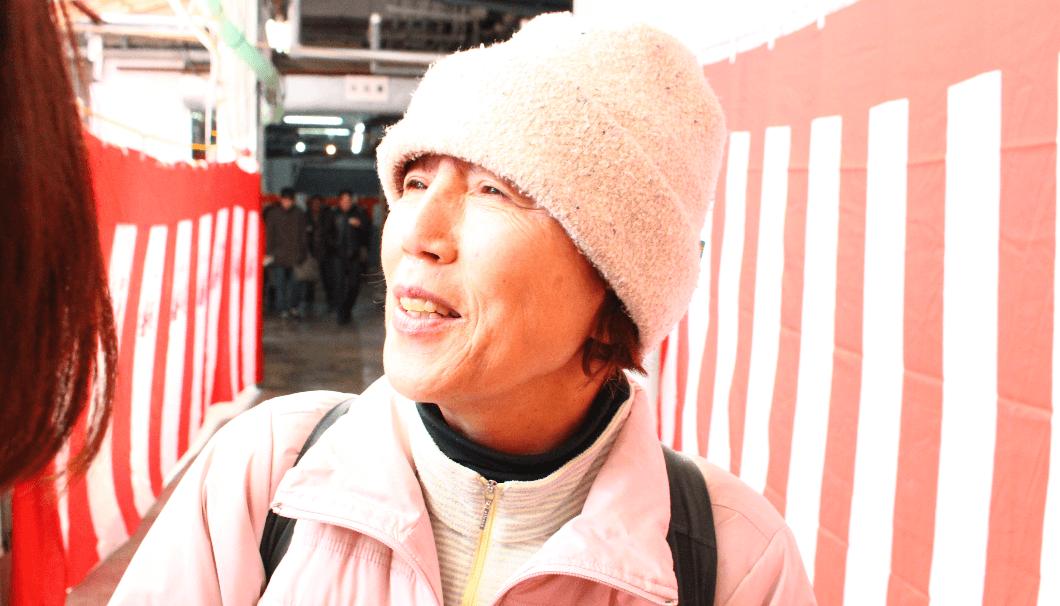 千代菊の蔵開きに参加した名古屋の大ファン