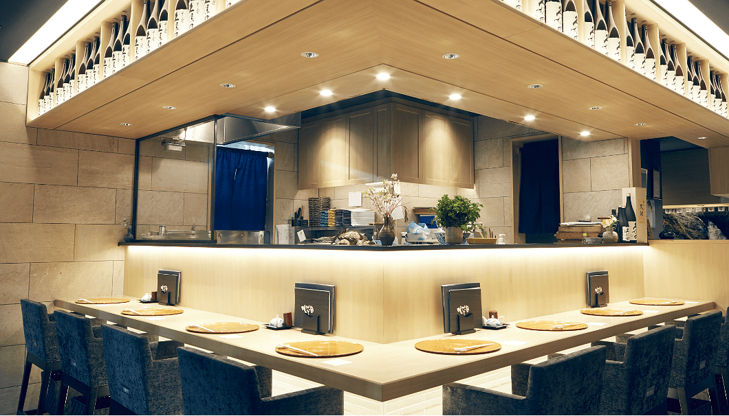 「銀座 久保田」は、久保田のお酒が誕生して30年の節目にオープンした直営店