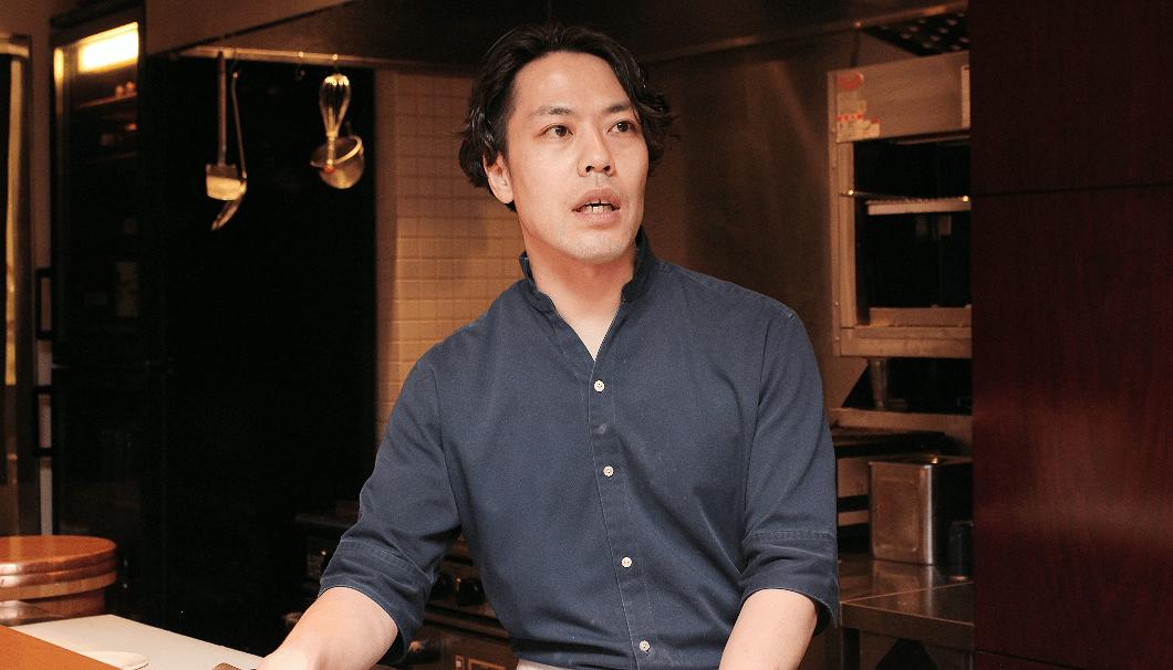 鮨なか川店主の白須賀芳孝(しらすか・よしたか)さん