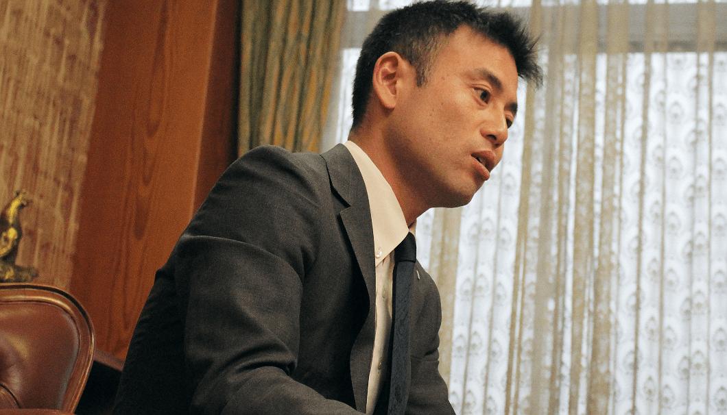 創業300年を迎えた2017年に社長に就任した、沢の鶴15代目代表取締役社長、西村隆さん