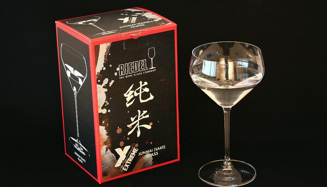 2018年4月19日より販売開始したRIEDEL(リーデル)の純米グラス