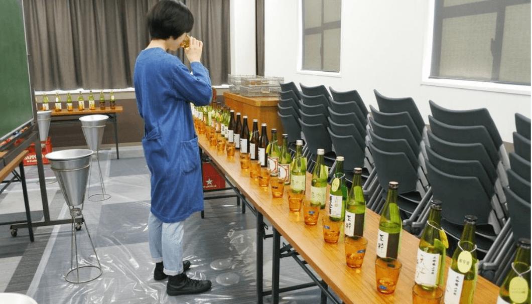 宮城県酒造組合の研究会の様子