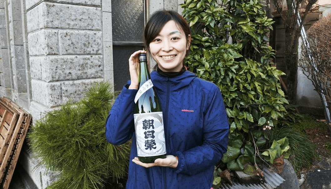 相良酒造の杜氏・相良沙奈恵さん