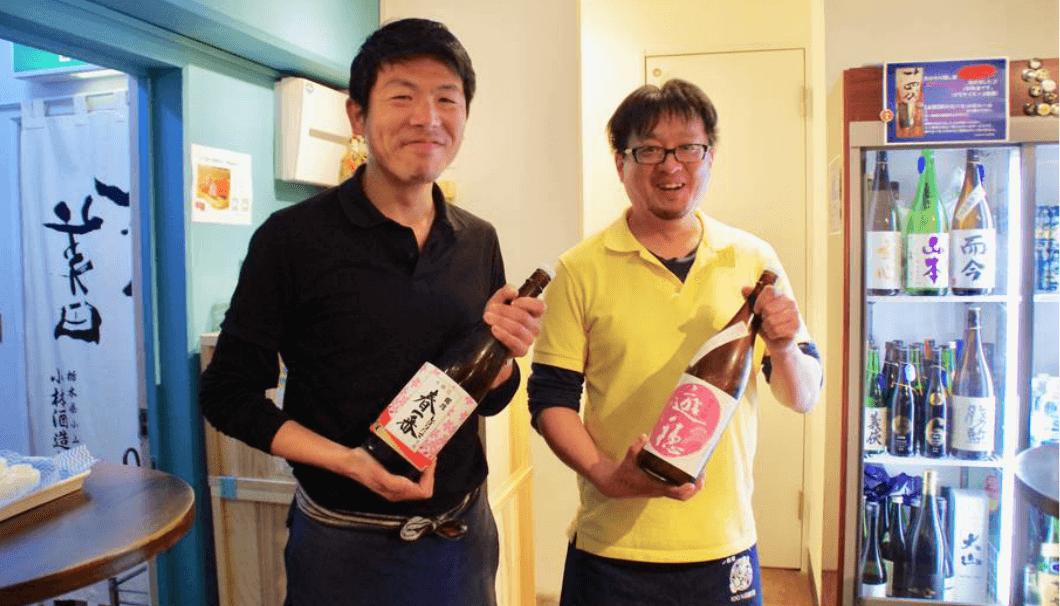 五反田にある「SAKEおかわり」の関谷オーナーと荒木店長