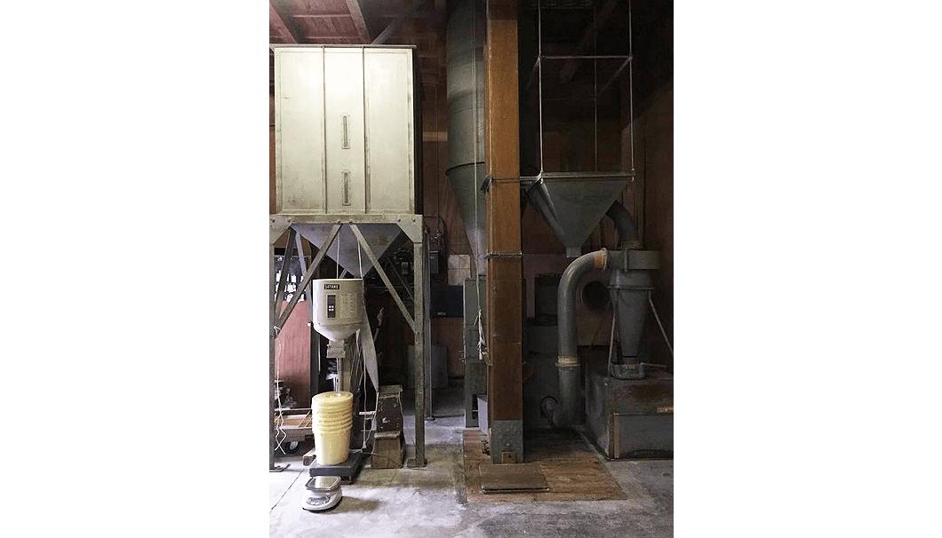 木次酒造の精米機
