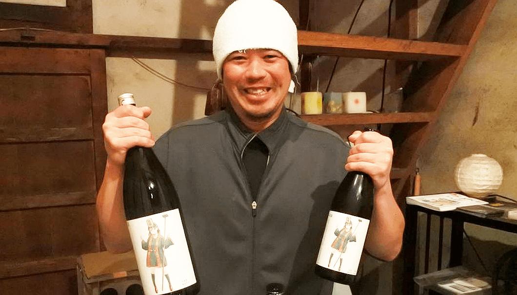 笑亀酒造の森川貴之杜氏