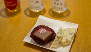 チョコレートが並んでいる写真