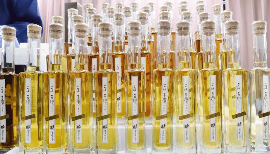 木戸泉の熟成酒「玉響(たまゆら)」