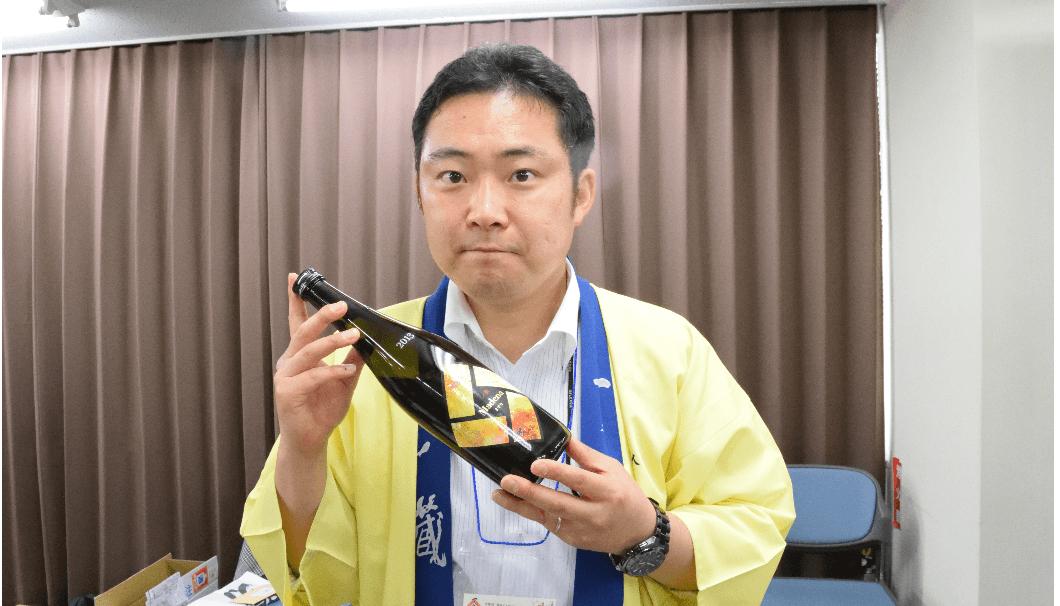 一ノ蔵、営業部の志村さん