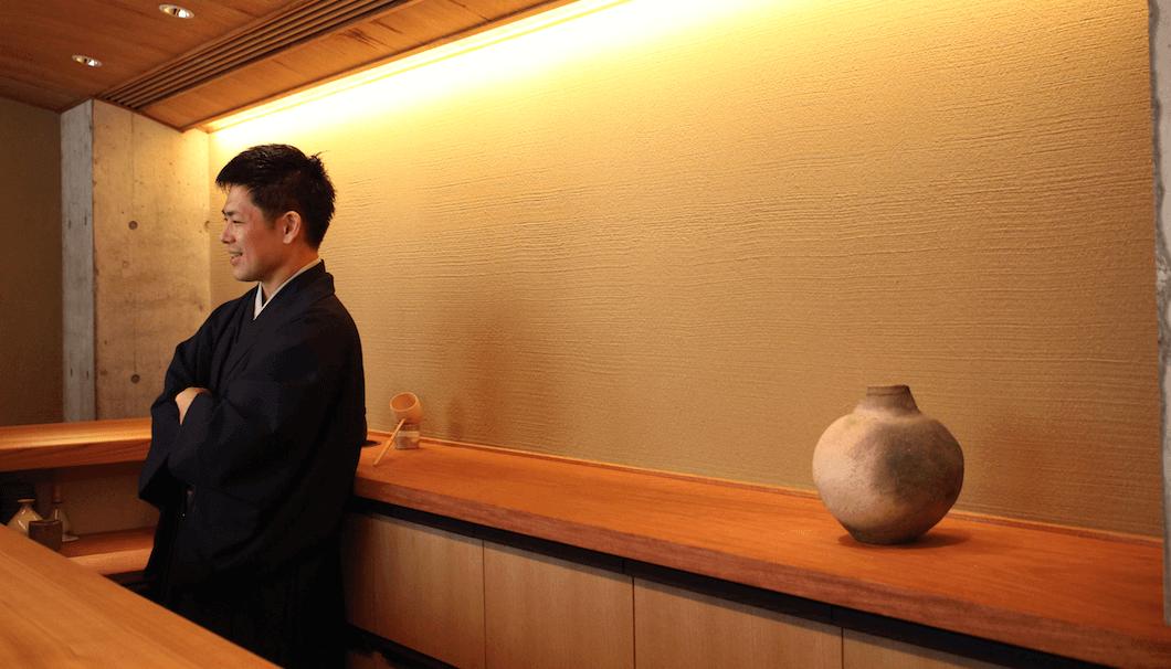 日本酒について語る宮下さん