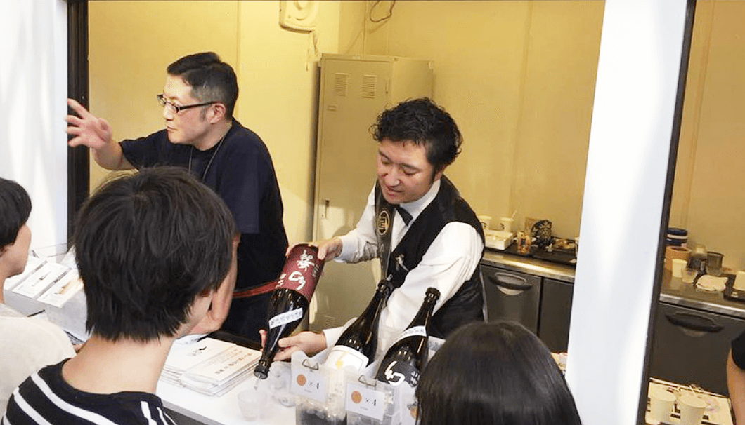 「CRAFT SAKE WEEK2018」唎酒師の田原和幸さん