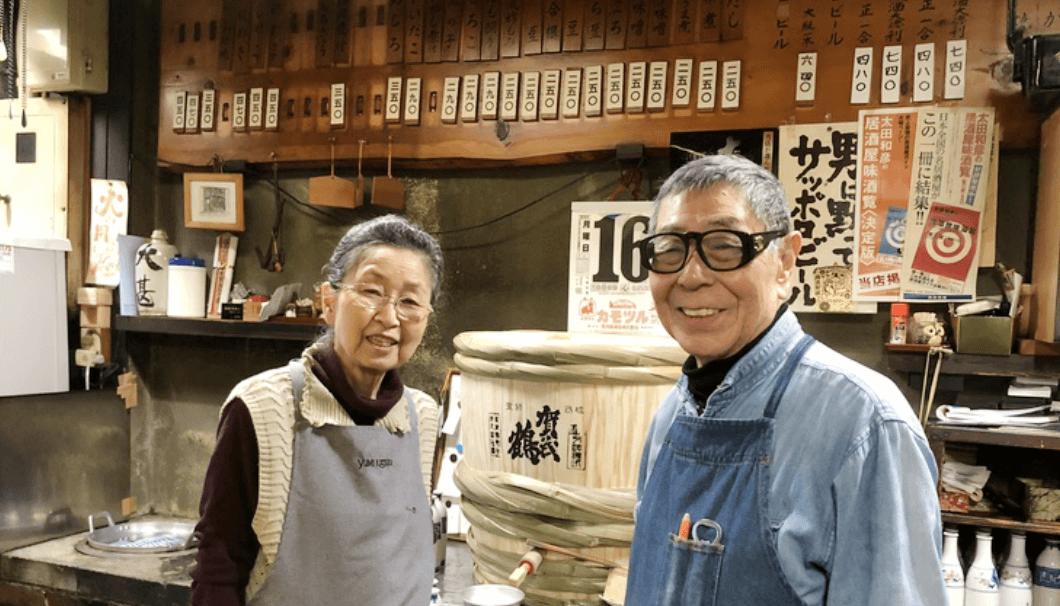 名古屋の飲食店「大甚」を経営するご夫婦