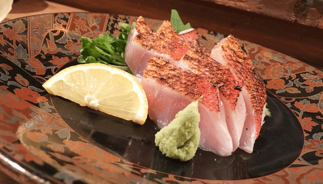 「彩膳ちくら」の金目鯛